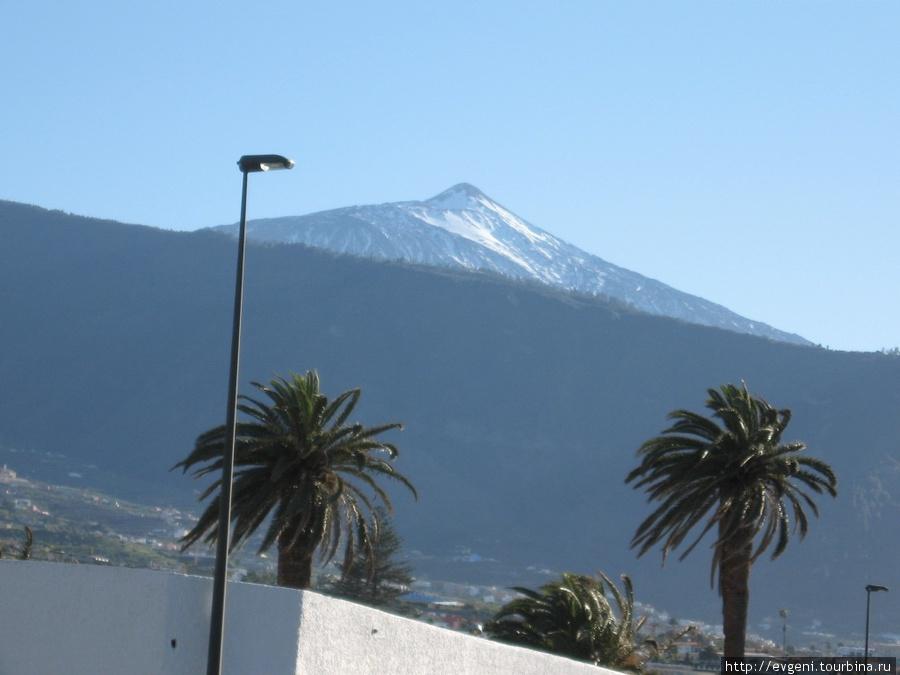 Вулкан Тйэд — символ Тенерифа