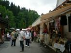 сувенирный рынок в Бране