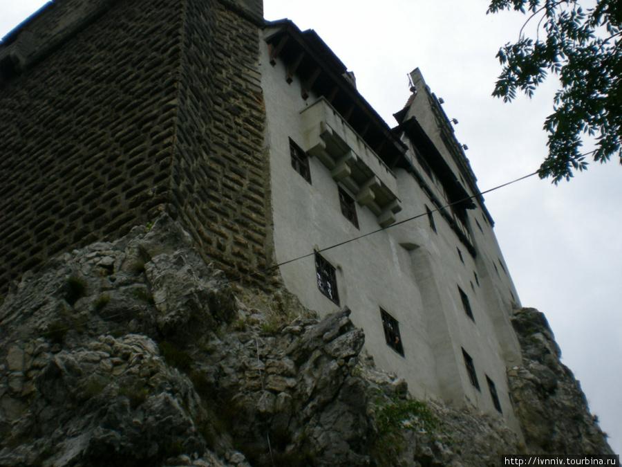 фасад замка