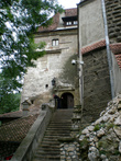 главный вход в замок