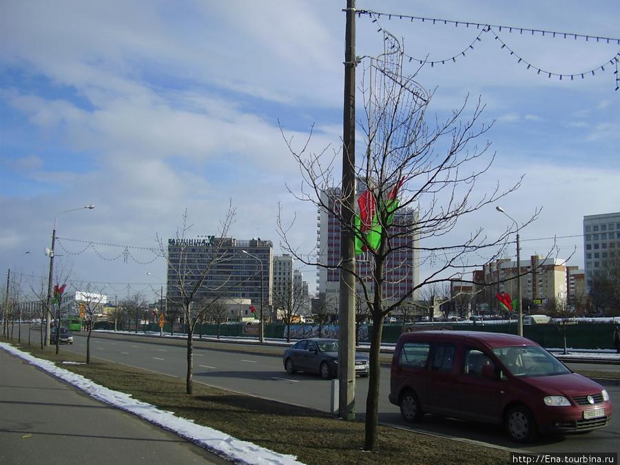Минск. Проспект Победителей