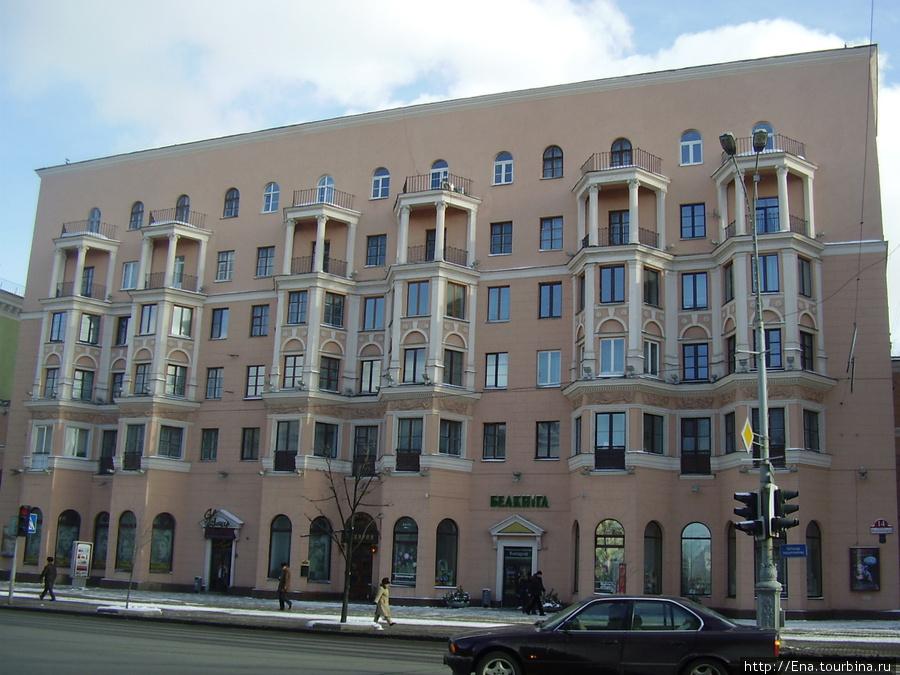 Минск. Город интересных архитектурных решений