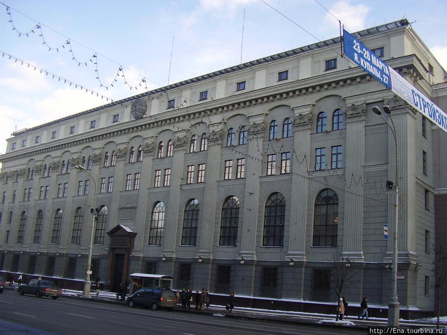 Торжественная архитектура Минска