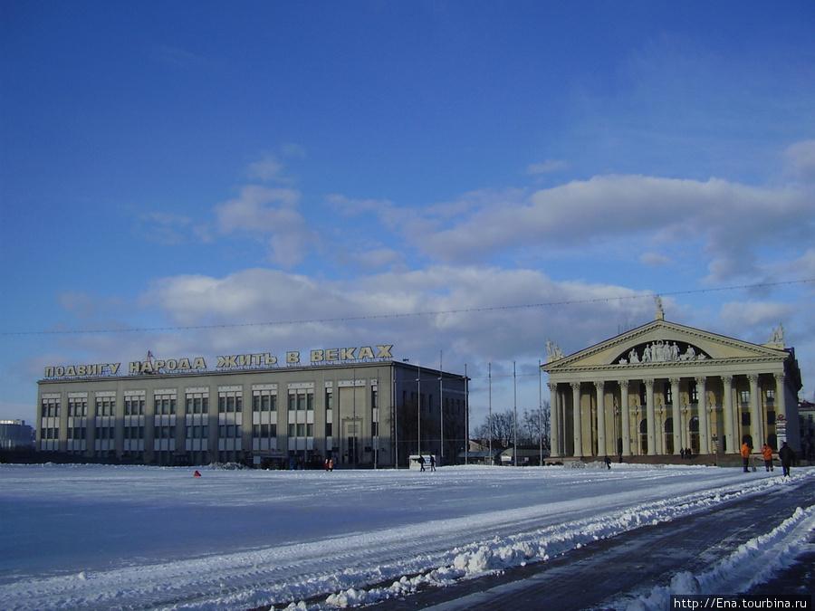 Мой весенний Минск