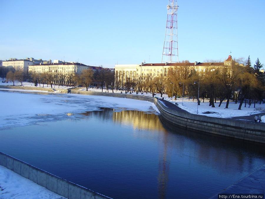 Минск. Панорама весны