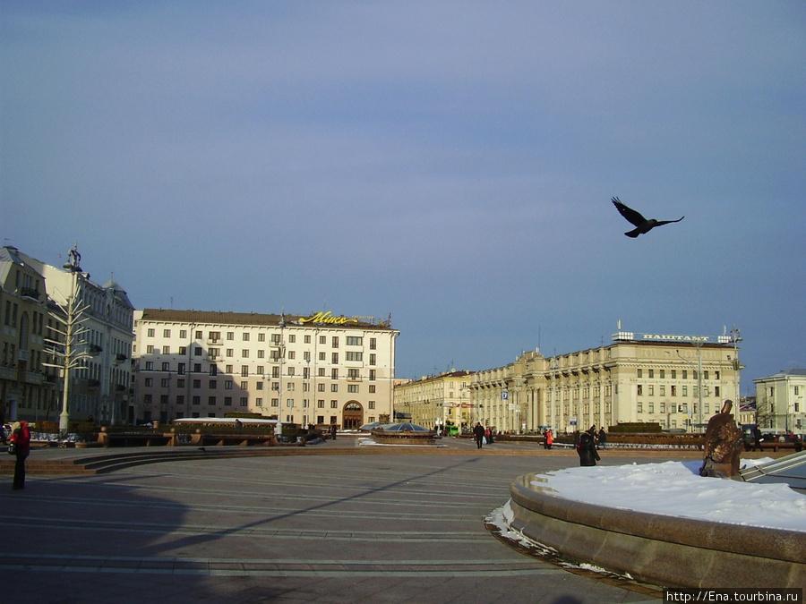 Минск. Пл. Незалежнасцi