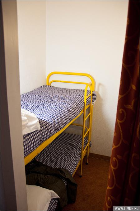 Дополнительная комната как спальня у номеров на 3-4 человека