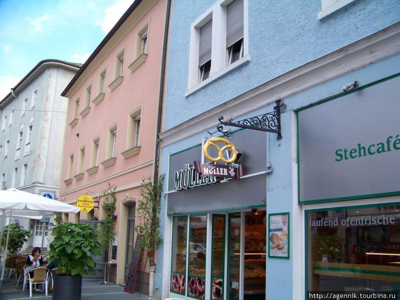 сеть Мюллер в Регенсбурге
