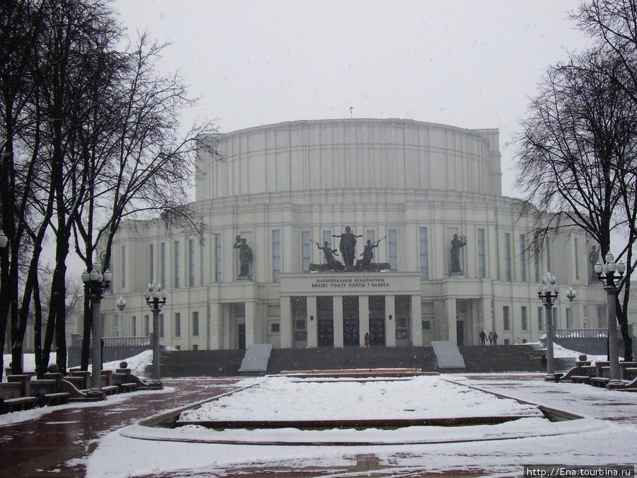 13.03.2010. Минск. Театр оперы и балета