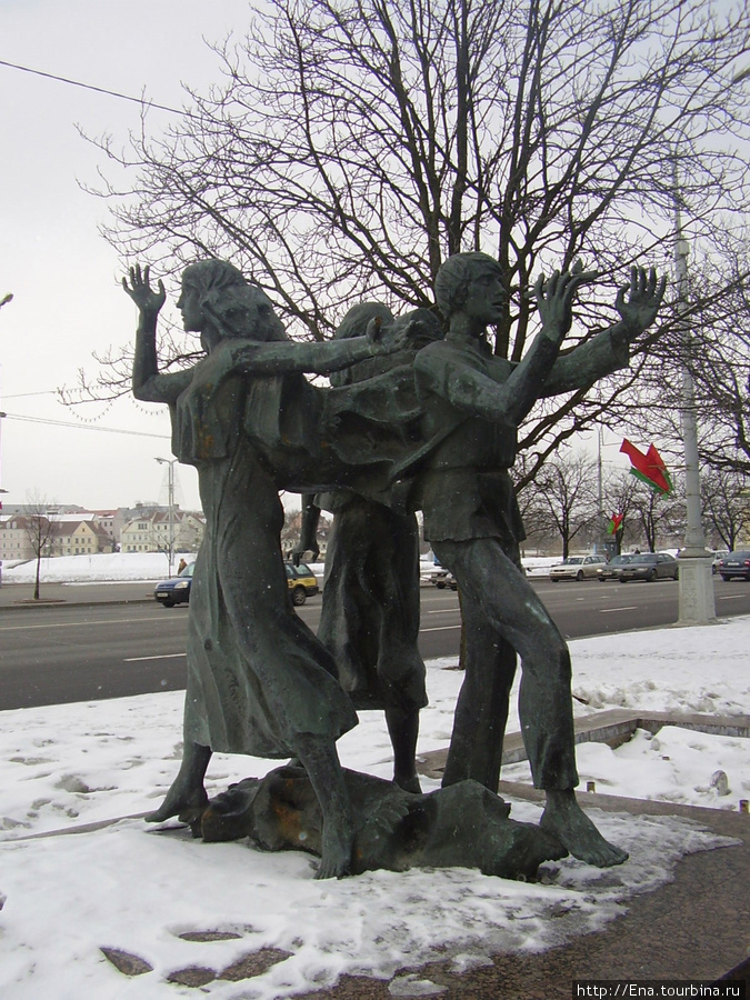 15.03.2010. Минск. Проспект Победителей. Гуканне вясны