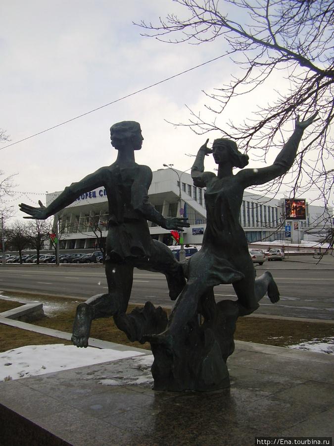 15.03.2010. Минск. Проспект Победителей. Купалье