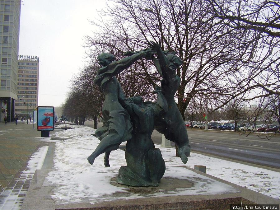 15.03.2010. Минск. Проспект Победителей. Свята ураджаю