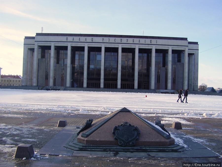 16.03.2010. Минск. Дворец Республики. Нулевой километр