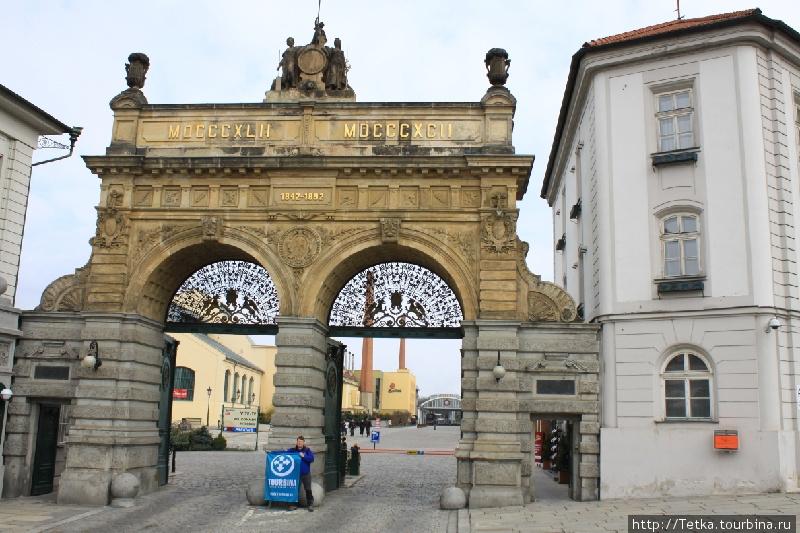 Ворота городской пивоварни