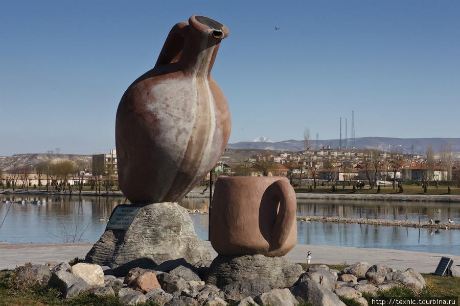 Памятник керамической пос