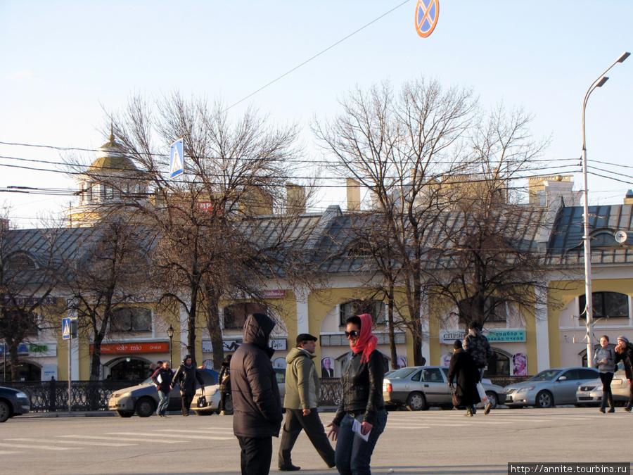 Торговые (Хлебные) ряды по ул. Кольцова.