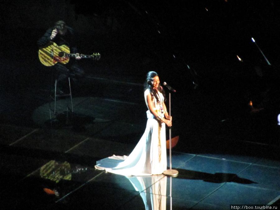 Сара Варья. Самое красивое платье!