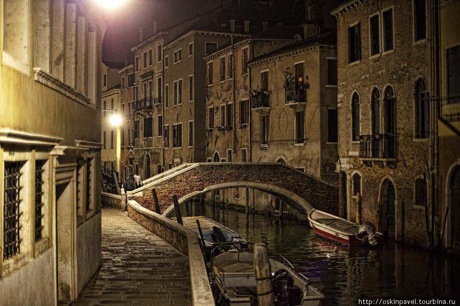 Улочки, каналы и мосты ... Венеция, Италия