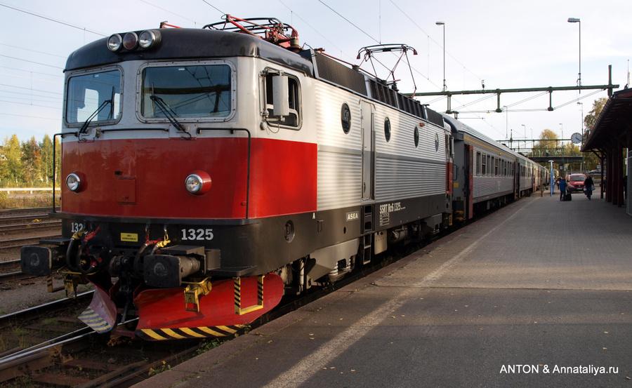 Поезд из Лулео в Элливаре