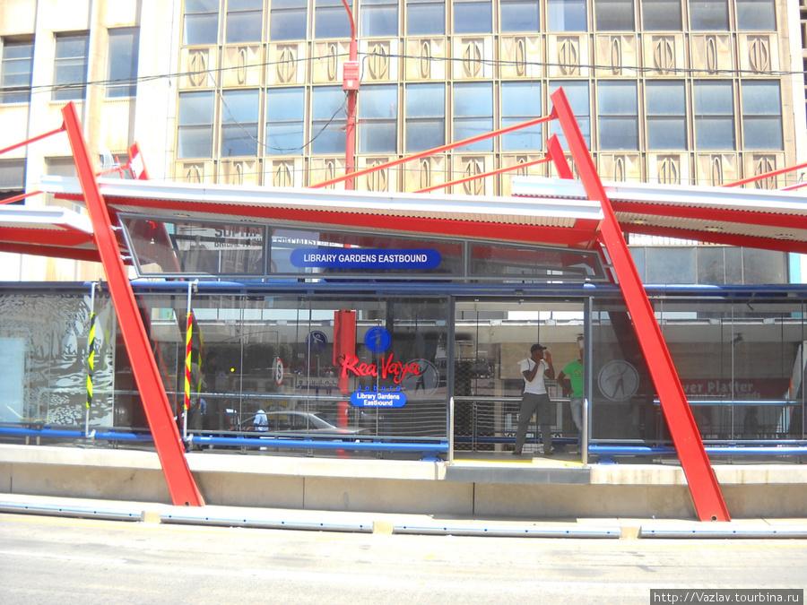 Одна из автобусных станций