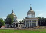 Церковь и часовня со смотровой площадкой.