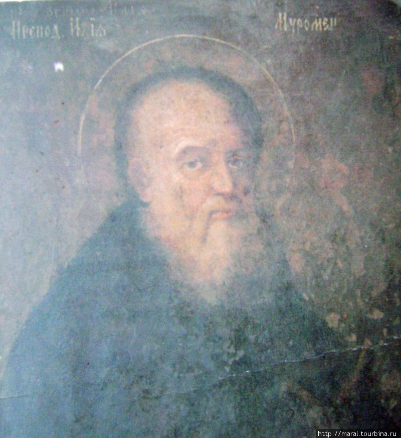 Преподобный Илия Муромец. Карманный календарь-иконка из Киево-Печерской Лавры