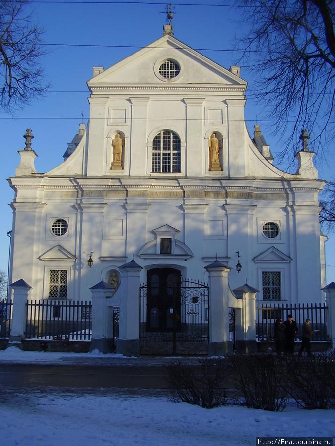 14.03.2010. Минск. Несвиж. Фарный костел