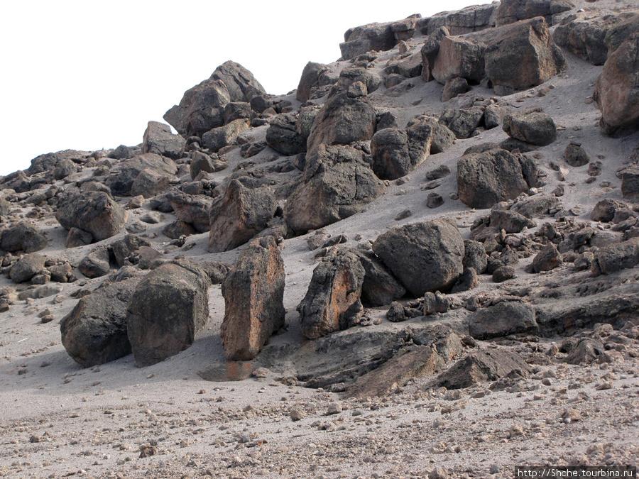 Каменная пустыня свыше 4500 м