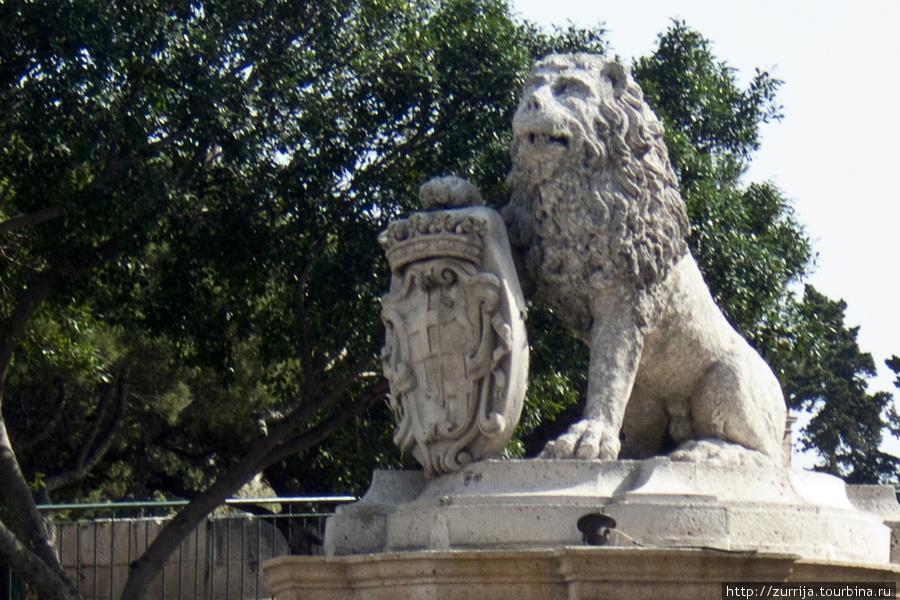 Фонтан со львом (Флориана, Мальта)