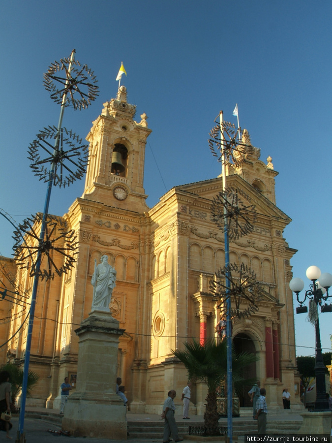 Площадь св. Иосифа (Ала, Гозо)