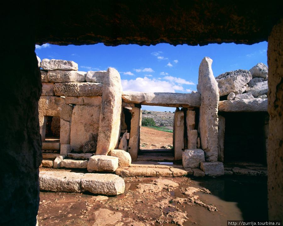Храмы Мнайдра (Ренди, Мальта)