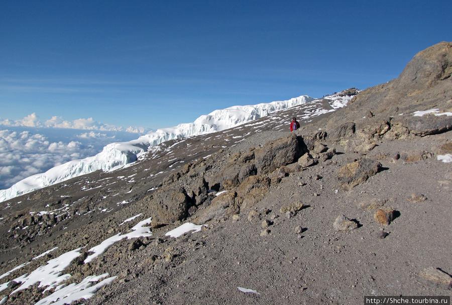 Последний взгляд на Uhuru Peak