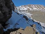 Тропа от  Gilmans Point к Uhuru Peak