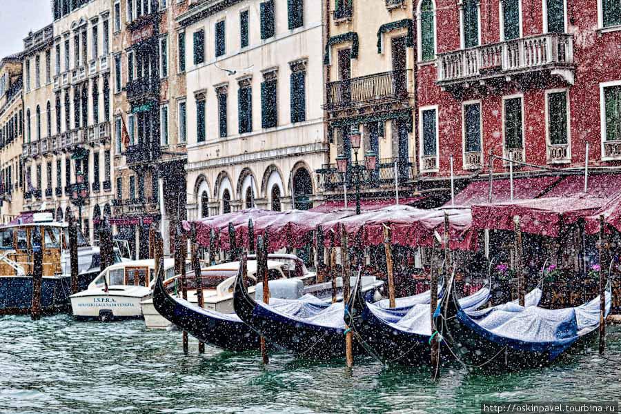 Снег в Венеции.... сон наяву ? Венеция, Италия