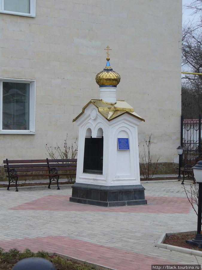 фонтан со святой водой