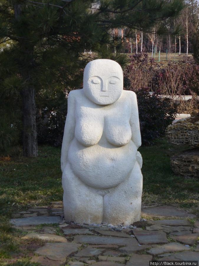 скульптура малых форм в парке