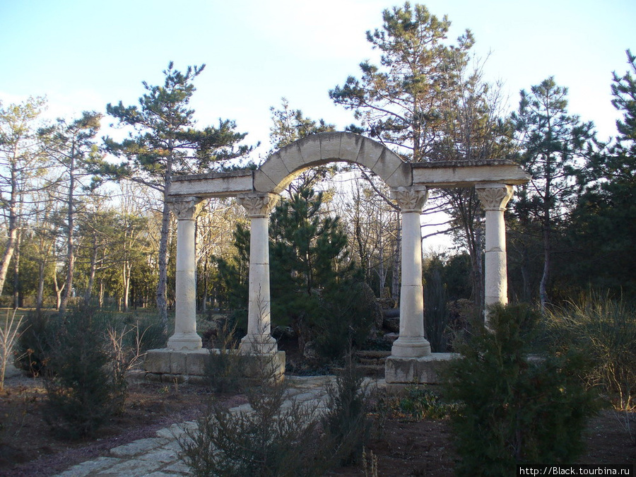 парк санатория имени Пирогова