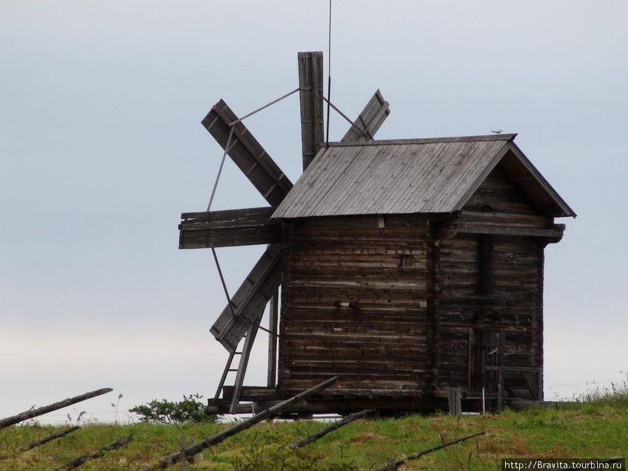 Ветряная мельница Кижи, Россия