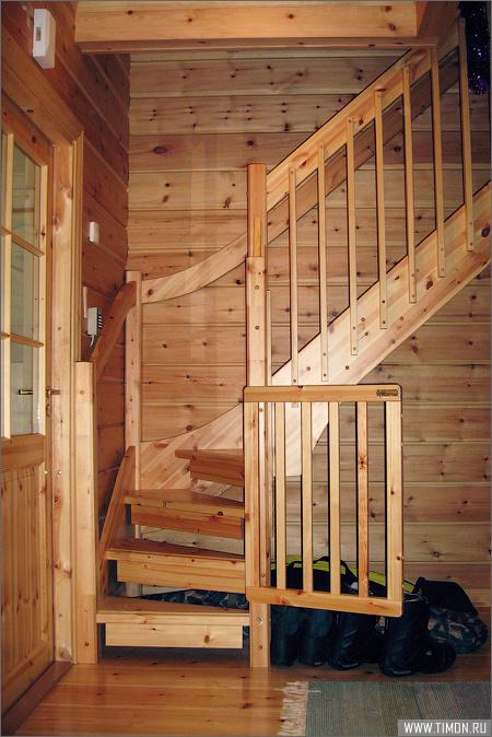 Лестница в лофт