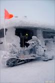 Снегоход спасателя