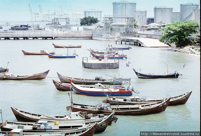 портовая романтика Малайз