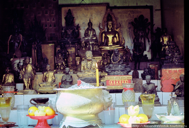 алтарь для Будд — с фрукт