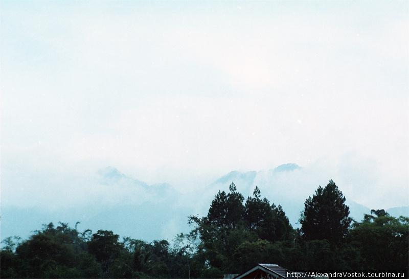 горы в облаках — мое люби
