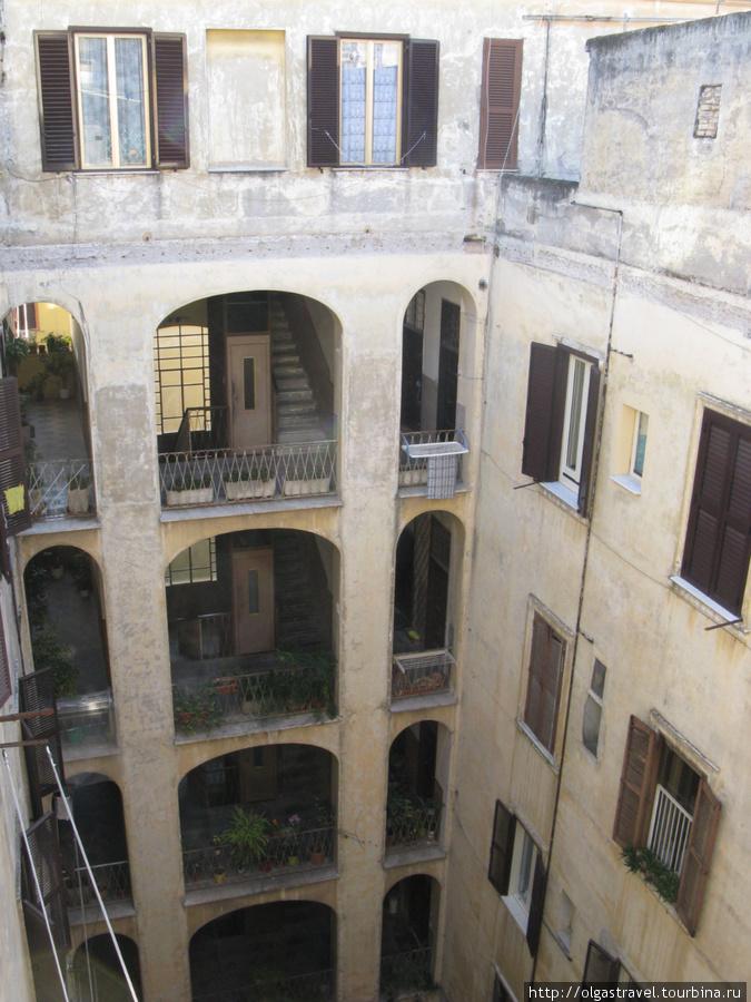 Итальянский дворик.