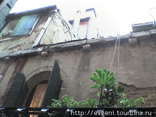 вид из окна,  отель Бруно