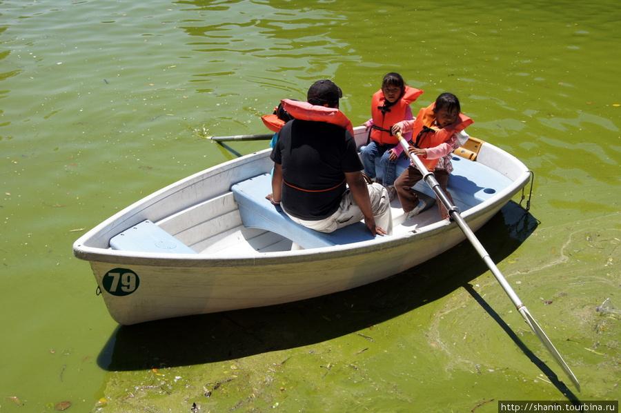 катался на лодке