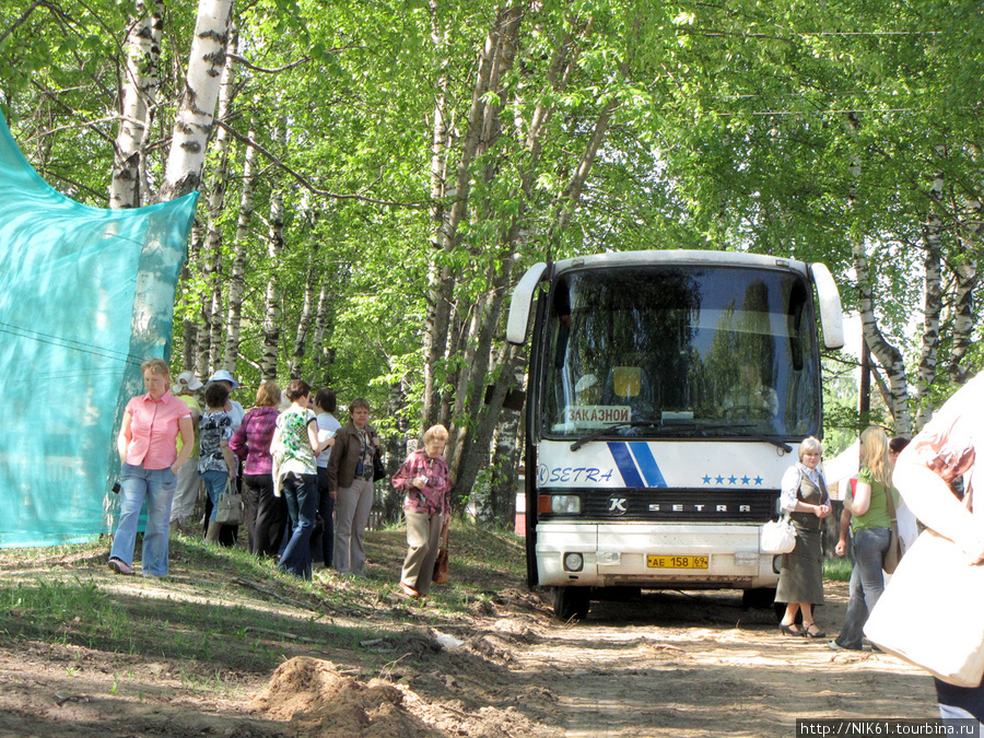 Автобус с туристами.