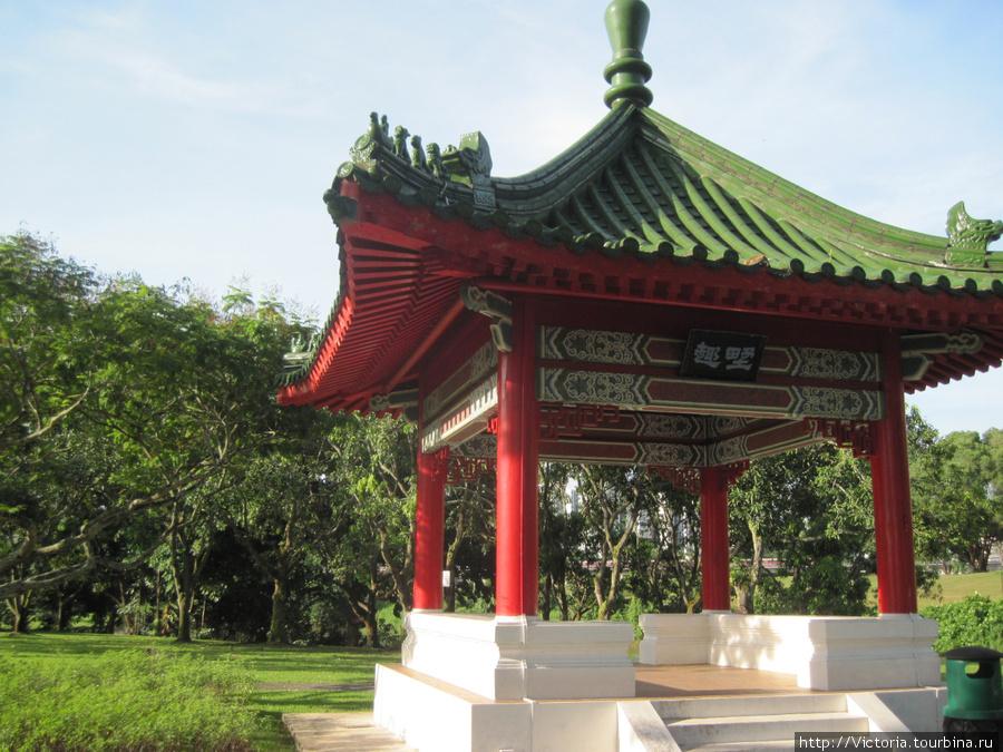 Беседка в Японском саду х