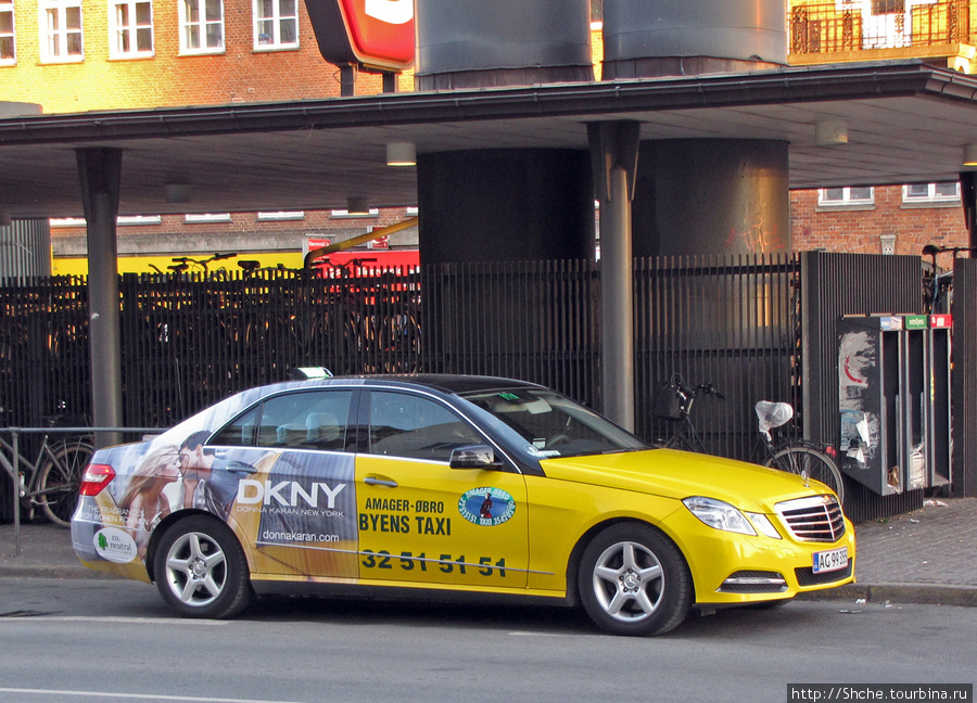 Такси похоже на NY