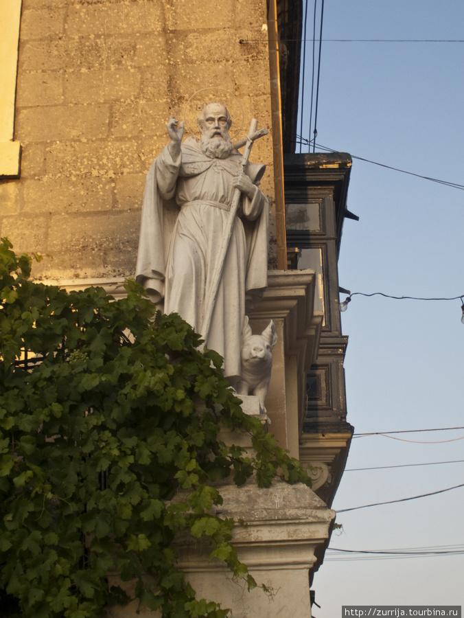 Св. Антоний (как водится, со свиньей) (Рабат, Мальта)